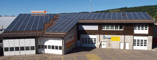 81 kWp PV-Anlage in Hinwil